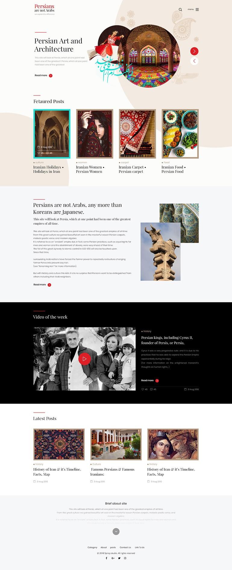 طراح سایت PANA